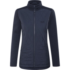 Jack Wolfskin Caribou Crossing Altis Jas Dames, midnight blue